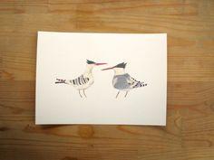 Elegant Tern 5x7 Print. $10.00, via Etsy.