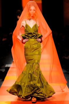 Jean Paul Gaultier Spring 2013 Couture Fashion Show - Alana Zimmer (Elite)