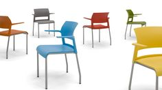 Move stackable side chairs are a durable solution available with a variety of options.