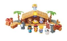 Fisher-Price Little People Nativity Set   -