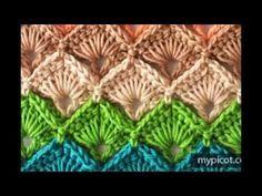 Espectacular tejido paso a paso en crochet - YouTube