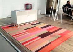 At the IDCF design fair in NYC:  Blu Dot gets into the rug game with several editions that cost less than $600.