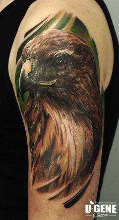 Redberry Tattoo Studio Wrocław #tattoo #inked #ink #studio #wroclaw #warszawa #tatuaz #gdansk #redberry #katowice #berlin #poland #krakow #kraków #ugene #evgeniy #goryachiy #eagle #orzel #bird #ptak