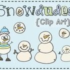 "You will have ""snow"" much fun creating winter activities with these 6 full color little ""snowdudes""!"