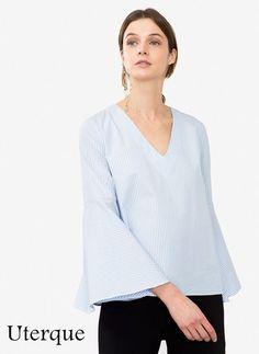 Hola a todos!!! Hoy os traigo una prenda que veo por todas partes y en muchas tiendas. Se trata de esta blusa, se caracteriza por ser...