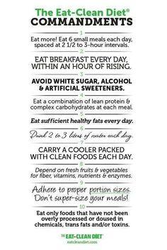 Eat clean ..,. www.getfiercefitness.com facebook.com/getfiercefitness