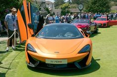 McLaren 570. Having proved its mettle at the top of the super- and hypercar segment, McLaren is now delving into slightly more mainstream territory, and the 570S looks like a brilliant start.