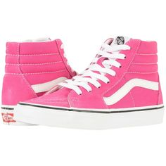 dca1139de Vans SK8-Hitm (Very Berry True White) Skate Shoes ( 65) ❤ liked on Polyvore  featuring shoes