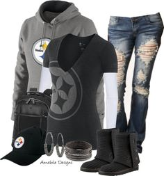 """Football Tailgating Contest"" by amabiledesigns on Polyvore"