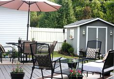 Back Deck/Pergola Reveal - Love of Family & Home