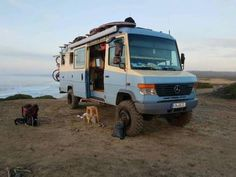 """Outstanding """"travel trailers"""" info is available on our website. Mercedes Vario, Mercedes Camper, Overland Truck, Expedition Vehicle, Van Camping, Camping Life, Motorhome, Ambulance, Rv Financing"""