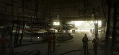 Images: New Rogue One: A Star Wars Story Location Concept Art Released. spoiler free star wars and science fiction news from the movie sleuth.