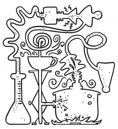 Vampire Blood Coloring Pages  laboratory coloring book  Pinterest