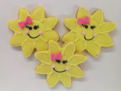 Happy Sunflower/Sun cookies