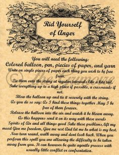 Rid-Yourself-of-Anger-Book-of-Shadows-Spell.jpg (600×781)