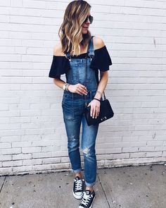 This look today on cellajane.com // #overalls #denim #casualstyle @liketoknow.it www.liketk.it/2geC8 #liketkit
