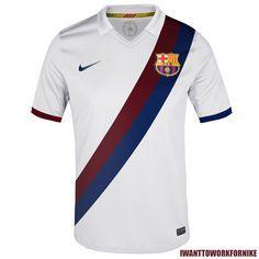 Four retro Jerseys for Fc Barcelona. by Nerea Palacios, via Behance