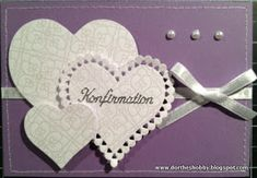 Like the hearts Signs, Mini Albums, Diy And Crafts, Greeting Cards, Day, Blog, Inspiration, Scrapbooking, Handarbeit