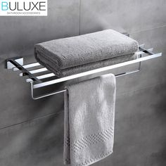 144.84$  Buy here - http://alief6.worldwells.pw/go.php?t=32760030369 - Brass Bathroom Accessories Towel Bar Rack Holder Chrome Finished Wall Mounted Bath Acessorios de banheiro HP7761