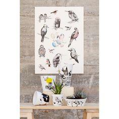 Birds poster från Mini Empire – Köp online på Rum21.se