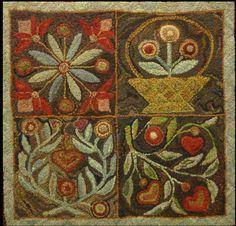 primitive rugs - Recherche Google