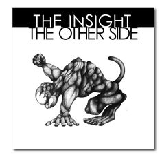 Cover of the 4th album of the french postpunk band THE INSIGHT