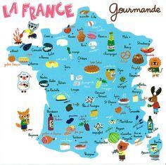 La France Gourmande (Fromages! Escargot! Macaron! Crêpes! Champagne!)