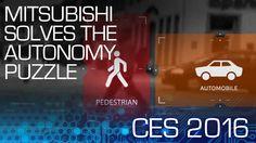 Mitsubishi Solves the Autonomy Puzzle - CES 2016