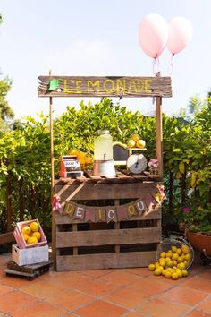 Vintage Lemonade Party via Kara's Party Ideas | KarasPartyIdeas.com (39)