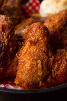 do-not-touch-my-food: Tennessee Hot Fried Chicken Hot and. do-not-touch-my-food: Tennessee Hot Fried Chicken Hot and finger-lickin? Hot Fried Chicken Recipe, Chicken Wing Recipes, Breaded Chicken, Boneless Chicken, Roasted Chicken, Tennessee Hot Chicken Recipe, Frango Chicken, Buttermilk Recipes, Comida Latina