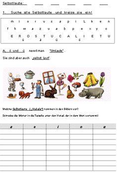 Rechtschreibung, ABC und lange und kurze Vokale