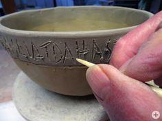 hauptsache keramik: Stachelschweinborsten