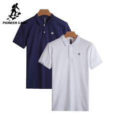 Pioneer Camp pack of 2 Polo Shirt Men top quality 100% cotton Mens Polo Shirt Short Sleeve Solid 2-packs Brand Clothing  #pants #dress #dresses #swimwear #bathing #jackets #tops #swim #beachwear #womenwear