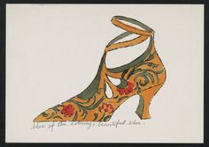 Andy Warhol., 1955  : More At FOSTERGINGER @ Pinterest