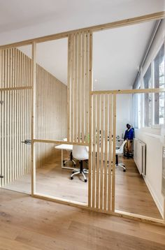 Salle agence Comside, PROJET VINCENNES, Agence Transition Interior Design (de Transition Interior Design )