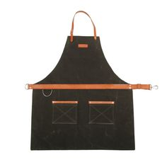 Rugged Men's Apron - Waxed Canvas - Olive