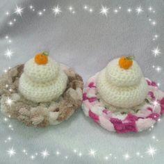 編みぐるみ ☆鏡餅☆