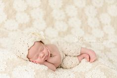 Crochet BONNET and PANTS baby girl set baby by Knitzbybeansknots, $50.00