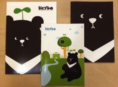 黑熊森林市集 | Rakuten:Heybo B5 筆記本