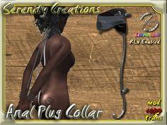 Second Life Marketplace - SC - Anal Plug Collar RLV