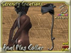 Second Life Marketplace - SC - Anal Plug Collar RLV