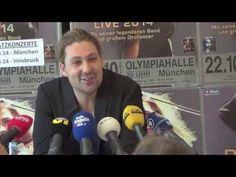 David Garrett Crossover 2014 - Pressekonferenz in München - YouTube