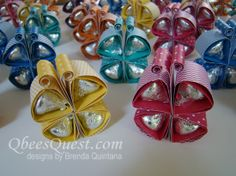 Qbee's Quest: Hershey's Kisses Butterfly Tutorial
