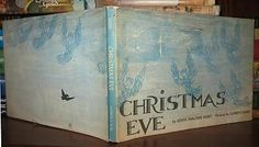 I found this gem at the library by Edith Thacher & Clement Hurd CHRISTMAS EVE. Amazing prints inside. Clement Hurd was the illustrator for Goodnight Moon!