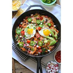 Chipotle Chilaquiles With  Black Beans, Radishes, Fresh Tomatoes And Jalapeños via @feedfeed on https://thefeedfeed.com/sarcasticcook/chipotle-chilaquiles-with-black-beans-radishes-fresh-tomatoes-and-jalapeos