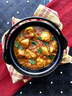 Recipe for one of the most delicious curries I've ever had: chicken madras! The mango chutney really makes this dish!
