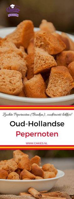 Deze oud-hollandse pepernoten zijn zacht en taai taai achtig. Een lekker en simpel Sinterklaasrecept. Ouderwets lekkere pepernoten (bonken).