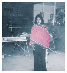 Chal tricolor, crochet
