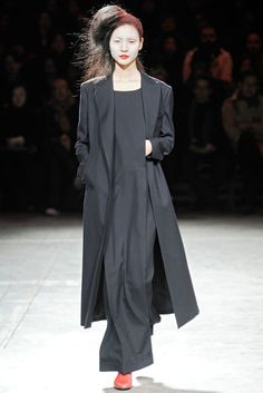 yohji yamamoto. I'm so into Japanese style right now.