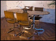 Ensemble Table et Chaises Années 70 -  Arteslonga